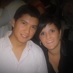Hermes López y Marta Alcaine