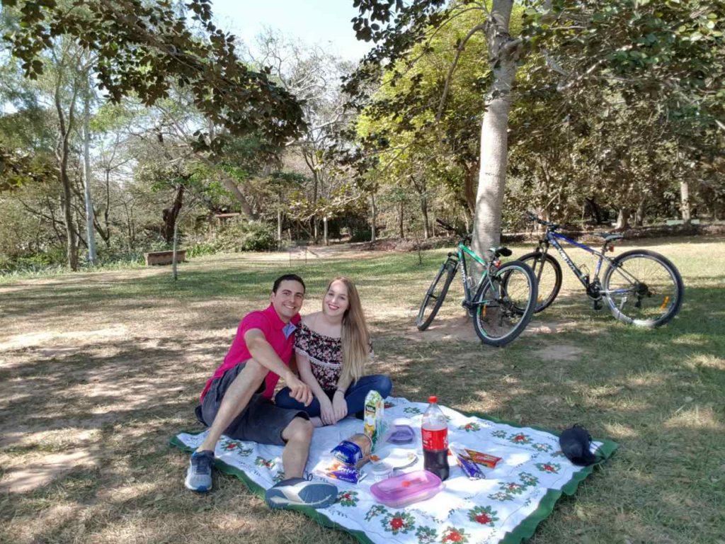 picnic emprender en pareja