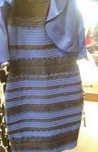 vestido de color