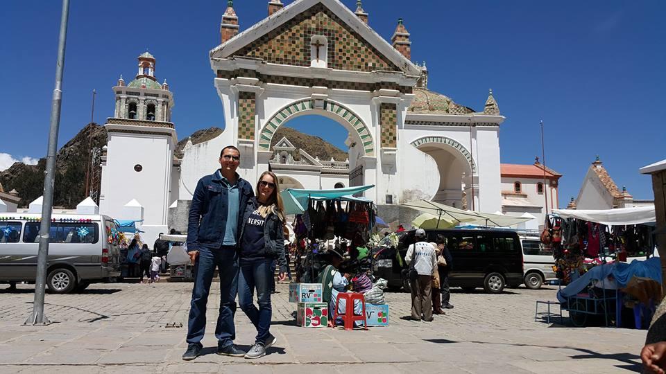 Basílica de Copacabana lago Titicaca
