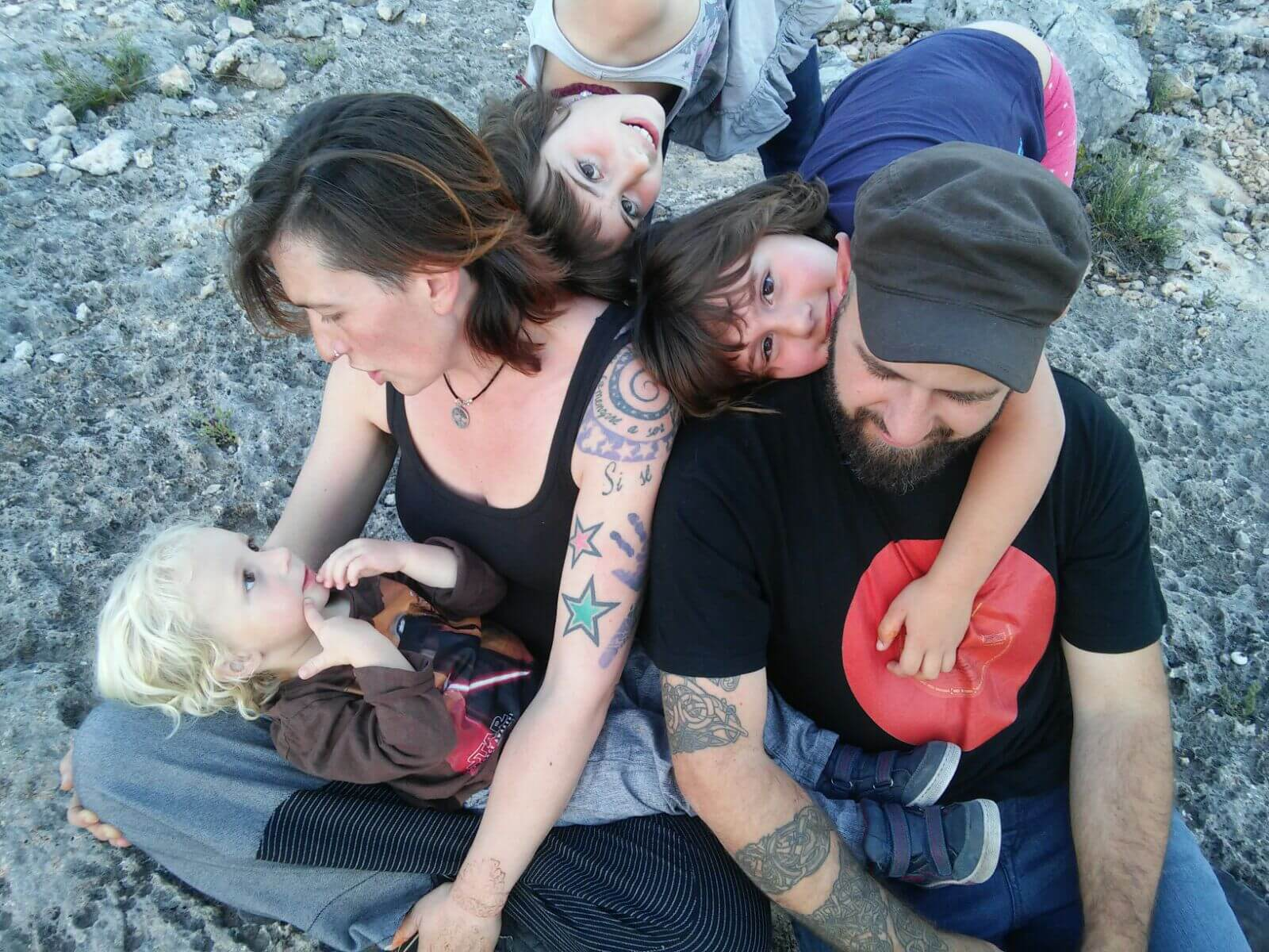 caracoles nomadas vivir viajando