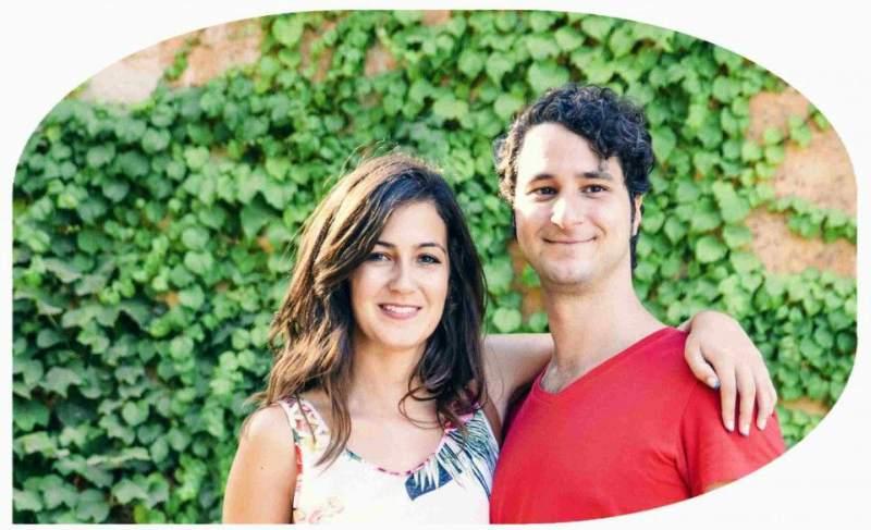 elefante en la red negocios online en pareja