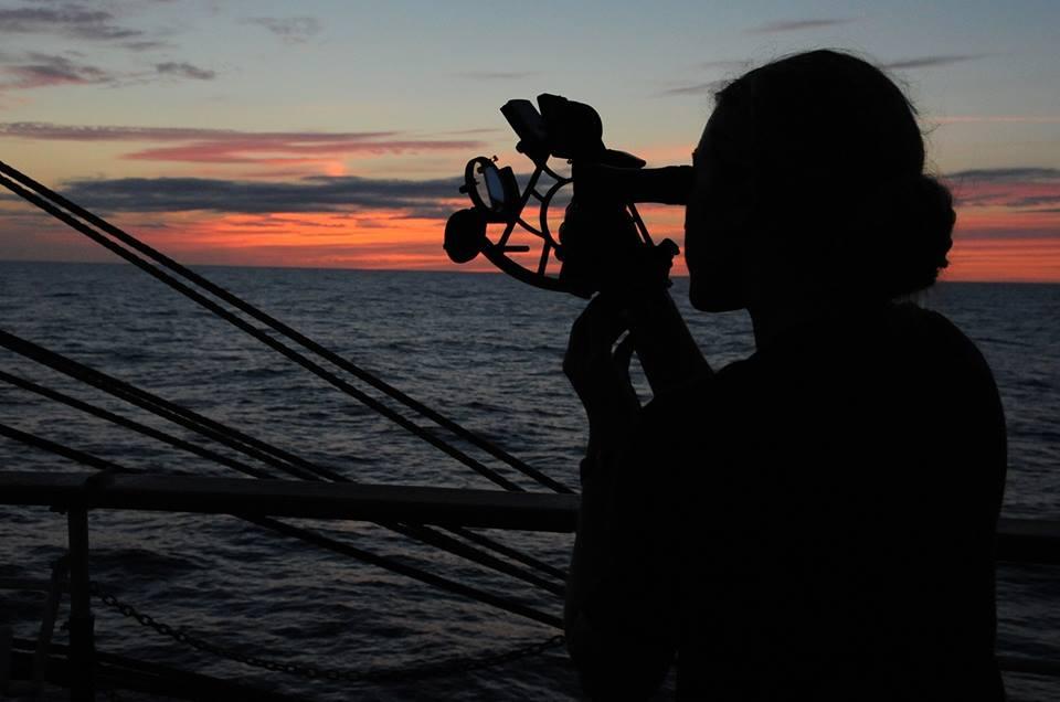 barcostop mirando las estrellas