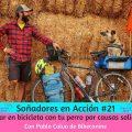 viajar en bicicleta con tu perro