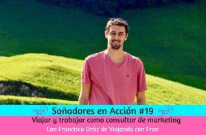 viajar y trabajar como consultor de marketing