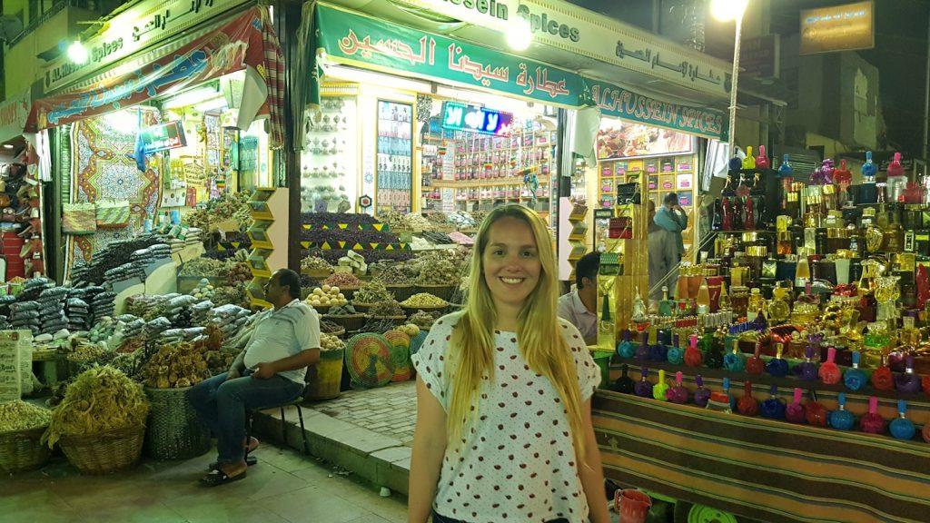 Viajar a Egipto: Bazar de Aswan