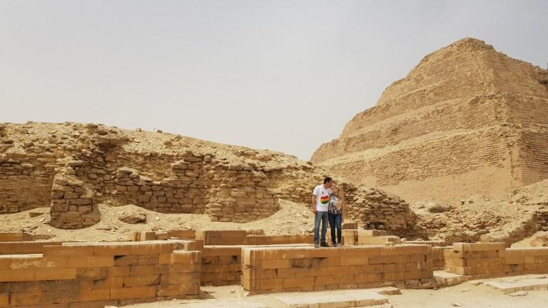 Viajar a Egipto: La Pirámide Escalonada