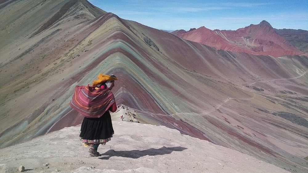 cómo llegar a la montaña de 7 colores