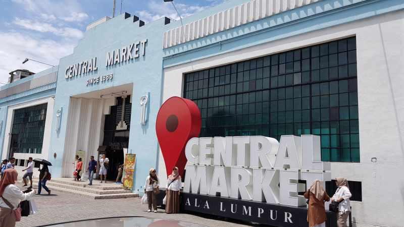 central market que ver y hacer en Kuala Lumpur