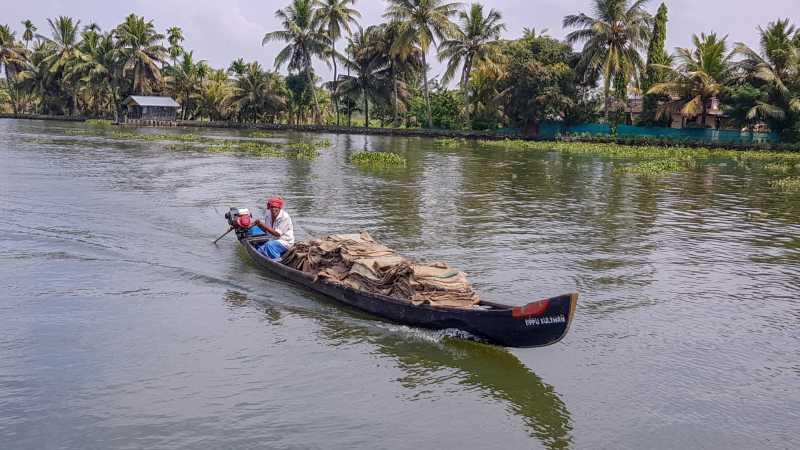 Kerala Backwaters población