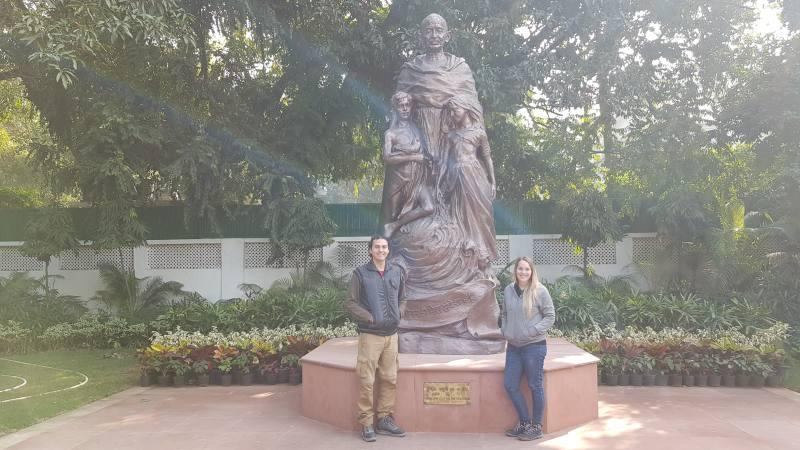 Gandhi en Delhi
