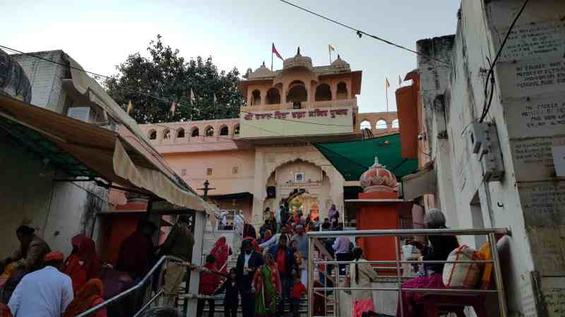 Templo de Brahma en Pushkar