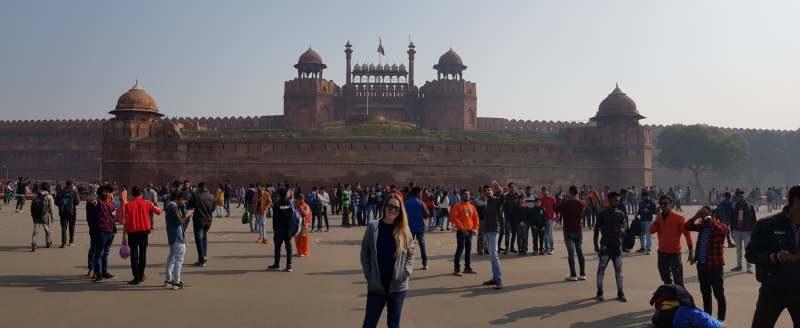 fuerte rojo ver en Delhi