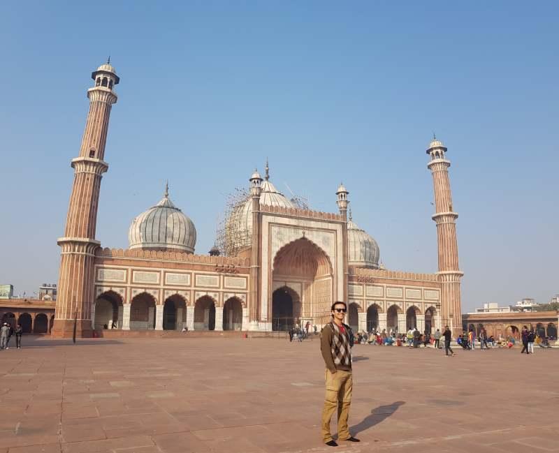 jama masjid ver en Delhi