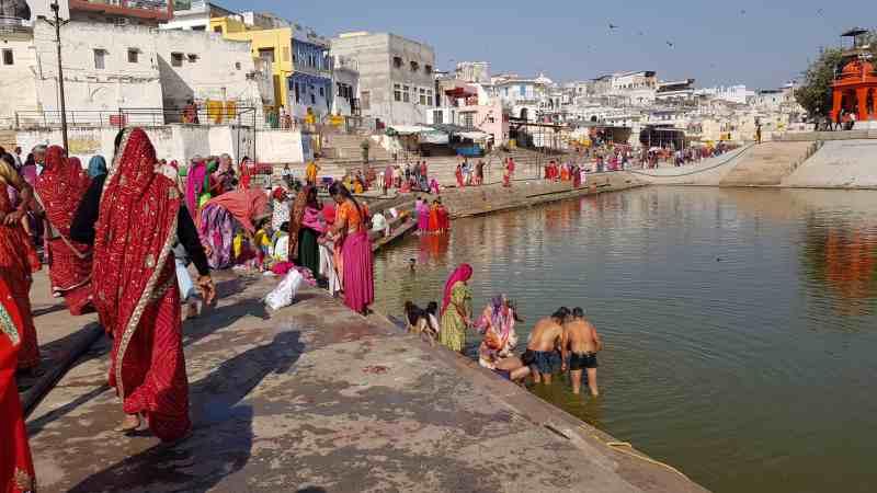 lago sagrado Pushkar