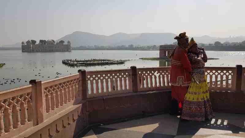 palacio de agua ver en jaipur