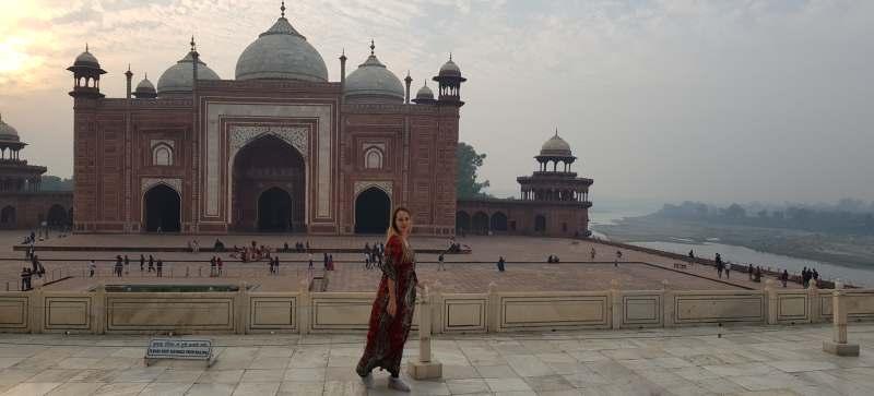 río yamuna ver en Agra