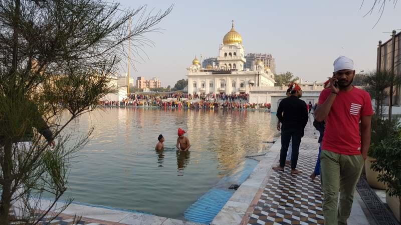 sij temple ver en delhi