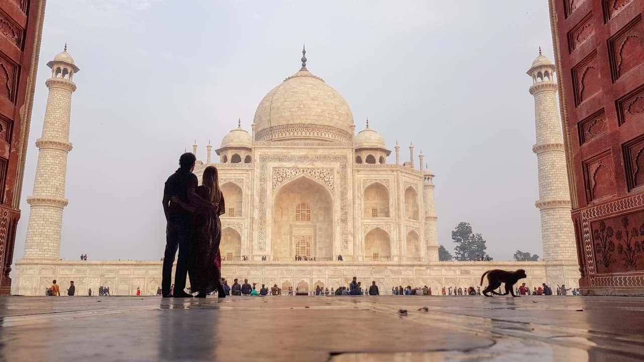 taj mahal ver en Agra