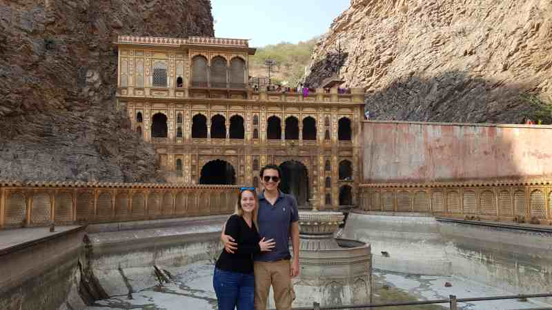 templo de los monos que ver en Jaipur