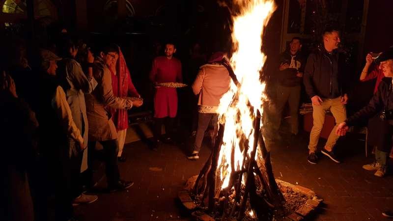 Amritsar festival Lohri