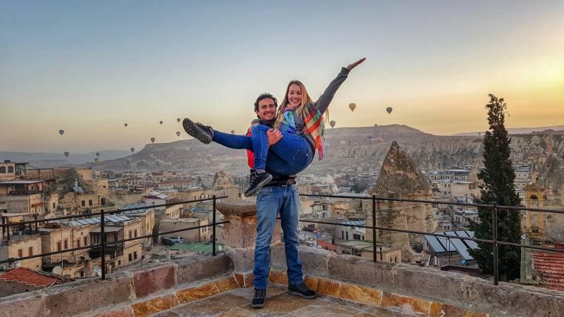 Cappadocia en pareja