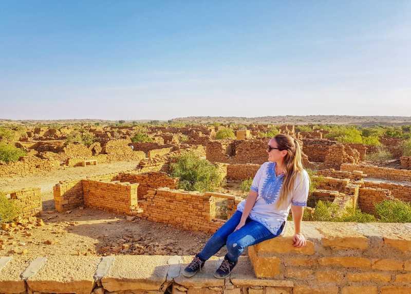 aldea embrujada jaisalmer