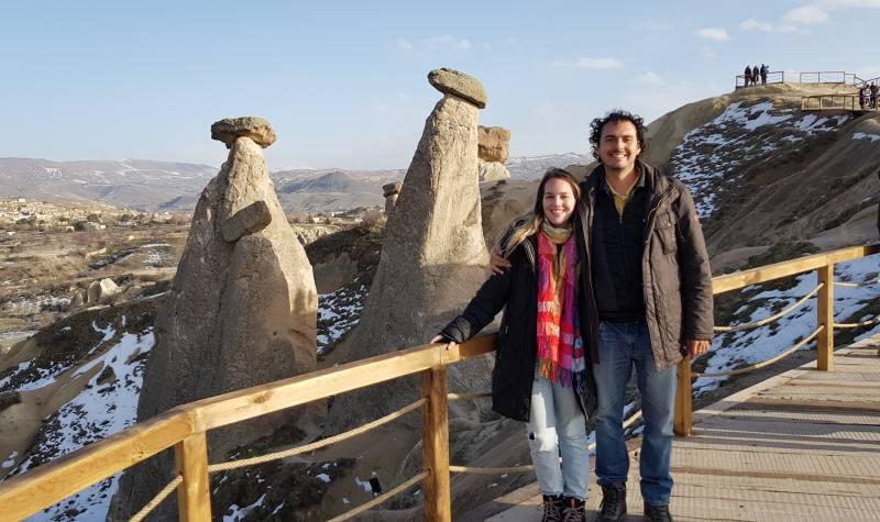 chimeneas de hadas en Urgup Cappadocia