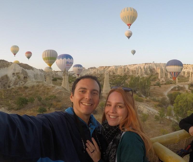 cuánto cuesta volar en globo en Cappadocia