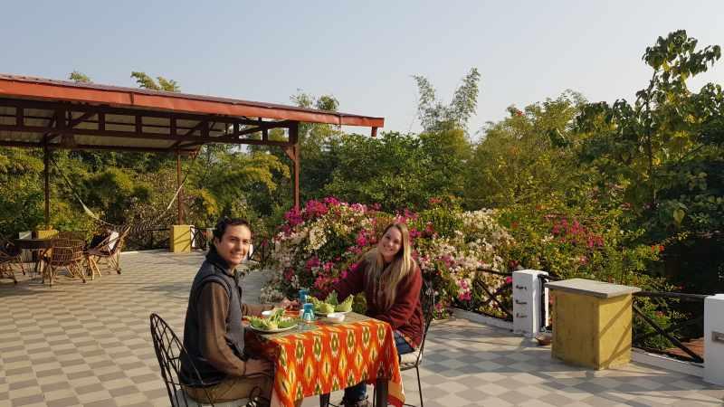 desayuno Tigergarh Bandhavgarh