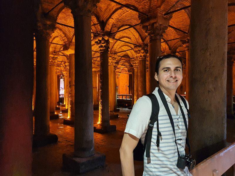que hacer y ver en Estambul - Cisterna Basílica