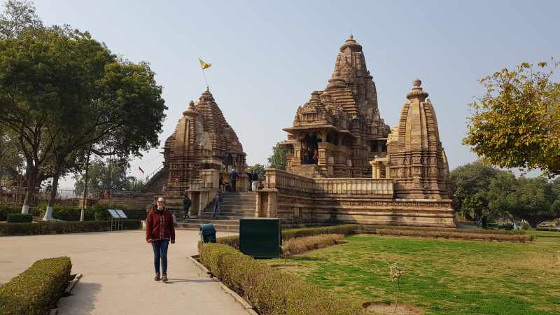 templos de Khajuraho oeste