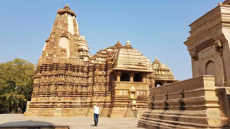 templos en Khajuraho que ver