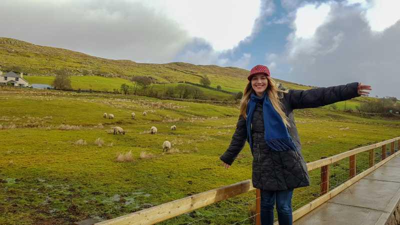 Connemara y sus ovejas