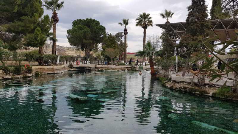 piscina de Cleopatra en Pamukkale