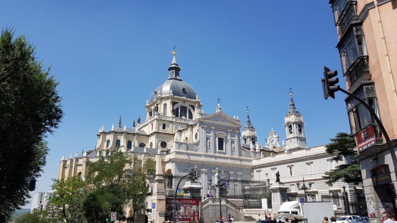 Catedral Almudena que ver en Madrid