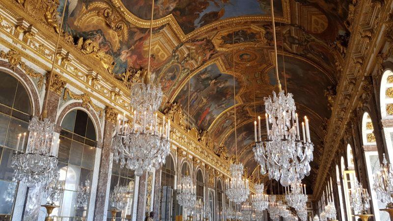 sala de los espejos palacio de versalles