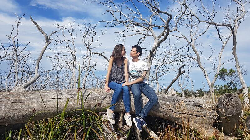viaje a Australia en pareja Haritz y Lorena en la Great Ocean Road