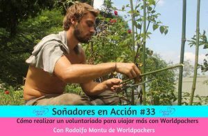 viajar con Worldpackers voluntariado