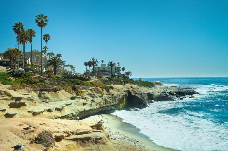 La Jolla Cove - vacaciones en San Diego
