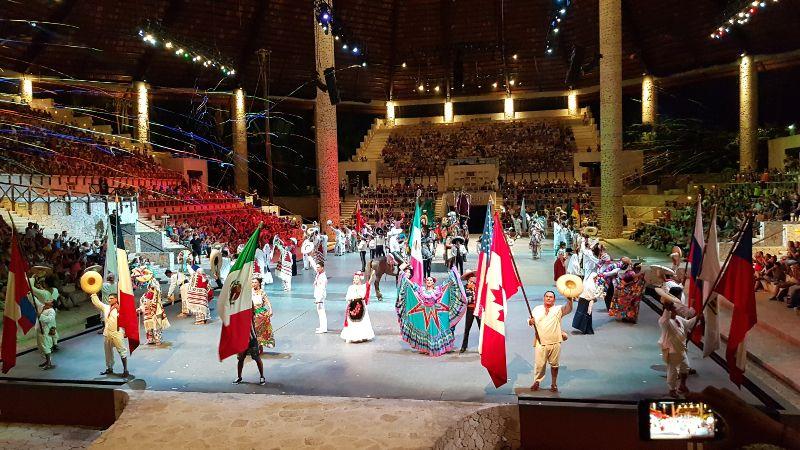 Show Xcaret México Espectacular