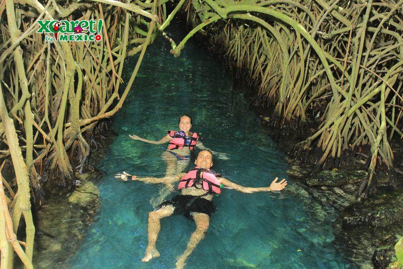 ríos subterráneos que ver en Xcaret