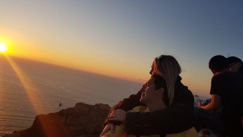 atardecer en Santorini 2