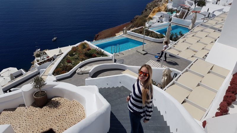 donde alojarte en Santorini