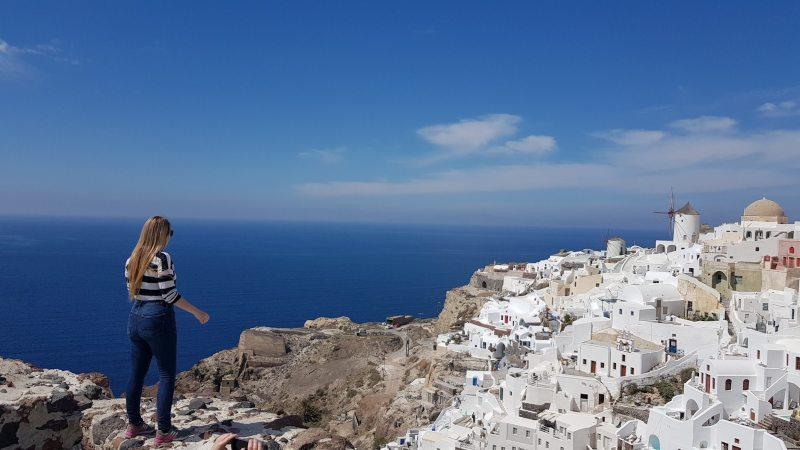 el castillo que ver en Santorini