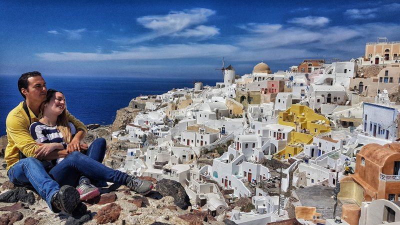 que ver en Santorini pueblos