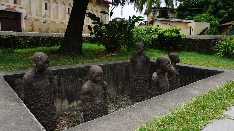 mercado de esclavos en Zanzibar