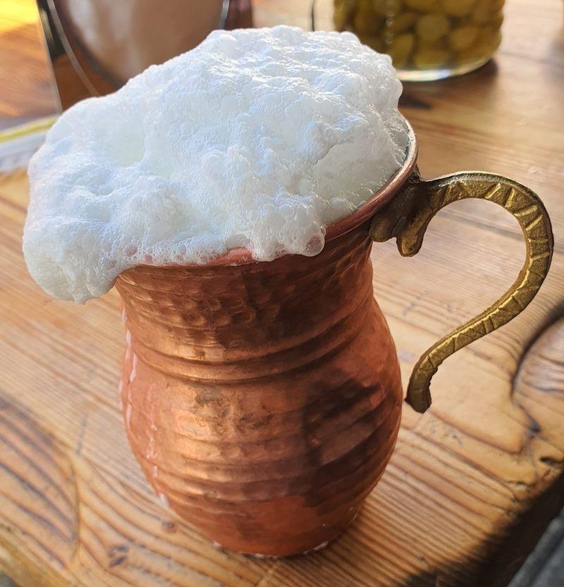 Ayran bebida turca que probar