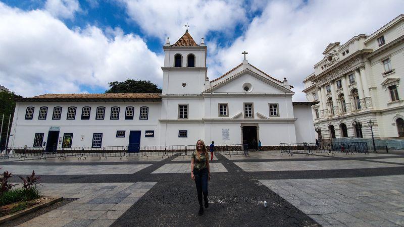 Patio do Colegio, centro histórico de Sao Paulo