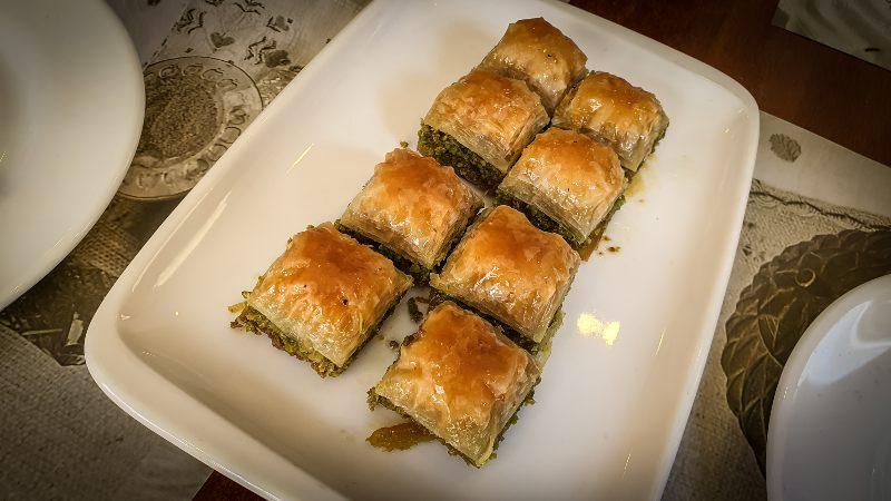 baklava dulce típico de Estambul